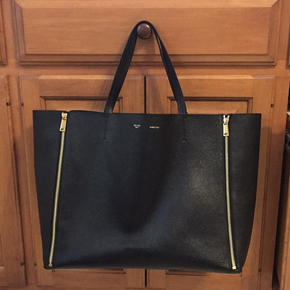 Celine Handbags - Celine Horizontal Cabas Gusset Zip Tote 3aadea9a0e29f